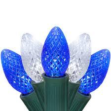 C7 Blue White Led Christmas Lights Christmas Lights C7 Cool White Blue Commercial Led