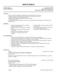 Claims Adjuster Resume Impressive Insurance Adjuster Resume Samples Fast Lunchrock Co 28 Trends