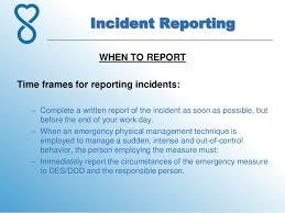 Incident Report For Work Barca Fontanacountryinn Com