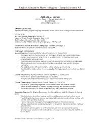 Degree On Resume