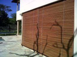 ordinary outdoor bamboo blinds