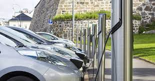 ev service charging points availability