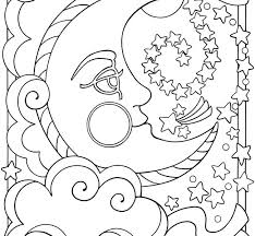 moon coloring pages moon coloring pages for s free printable moon coloring pages for kids best moon coloring pages