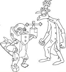 Small Picture Kids n funcom 31 coloring pages of Phineas and ferb