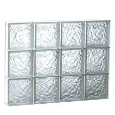 glass block windows cost glass block window cost ice glass pattern replacement block window rough opening
