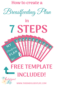 Create My Birth Plan Creating A Breastfeeding Plan Free Template Included This