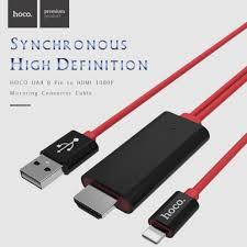 Cáp HDMI Kết Nối điện Thoại IPhone Với Tivi Hoco UA4