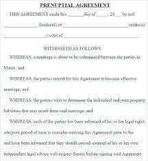 Sample Prenup Free Prenuptial Agreement Template Australia Emlakkonuthaberler