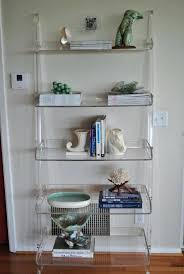 Lucite Floating Shelves