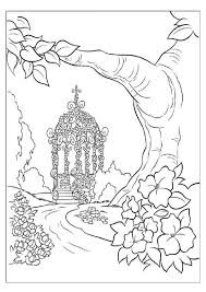 Fantasy Nature Coloring Pages Coloringstar