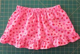 Skirt Size Chart For Toddlers Lyns Needlecase Easy Toddler Skirt And Childrens Size Chart