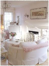 image of interior shabby chic chandelier