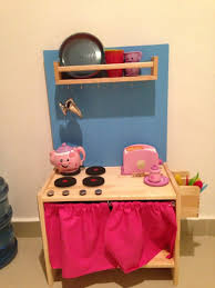 Homemade Play Kitchen Play Kitchen From Ikea Rast Diy Play Kitchens Pinterest