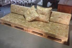 sofá de pallet 1 módulo sem estofado