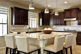 kitchen islands that seat 8 | Kitchen with custom designed Island to seat 6.