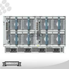 Cisco Servers Details About Cisco Ucs 5108 Chassis 8x Fans 4x Psu 2x Fabric Modules 8x B200 M3 Blade Servers