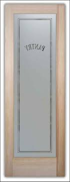 pantry doors with frosted glass