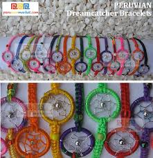 Dream Catchers Wholesale 100 Peruvian Dreamcatcher Bracelets Amazon Indian jewelry 17