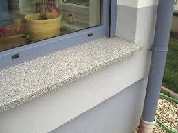 Fensterbank Aussen Stein Fensterbanke Hkv Megastein Granit Einbauen