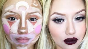 women take clown makeup contouring selfies as if all contouring doesn t look like clown makeup