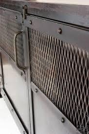 metal industrial furniture. Custom Industrial Media Cabinet / Steel 2 Door Metal Furniture N
