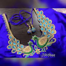 Aari Design Book The Dancing Peacocks Classy And Elegant In Its Own Way