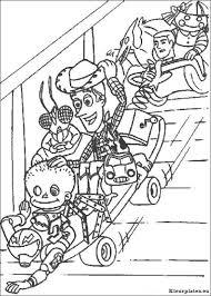 Toy Story Kleurplaten Kleurplateneu