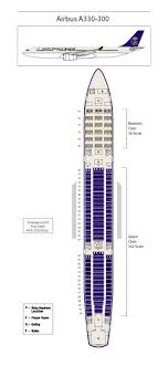 Airbus A333 Delta Seating Chart Saudi Arabian Airlines Airbus A330 300 Seating Chart