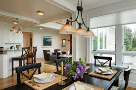 light fixtures for dining room with farmhouse ceiling paneling dining room decor