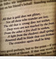 JRR Tolkien Quote March 40 On We Heart It Gorgeous Tolkien Quotes