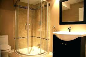 basement stand up shower ideas base kits extremely bathroom showers full size of