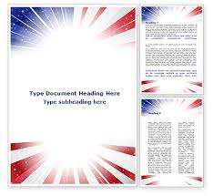 american template american flag stylized word template