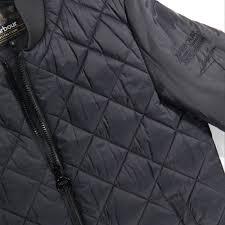 Barbour International Steve McQueen Quilted Bomber Jacket - Black ... & Barbour International Steve McQueen Quilted Bomber Jacket - Black Adamdwight.com