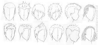 Coiffure Dessin Cheveux Homme L