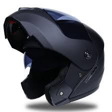 <b>NEW Flip Up Motorcycle</b> Helmet Racing Modular Dual Lens ...