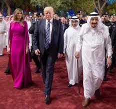 Resultado de imagem para trump arabia