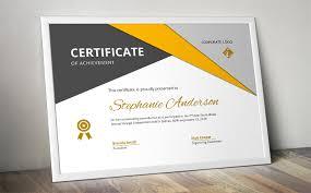 Corporate Certificate Template Big Triangle Corporate Certificate Template For Ms Word By