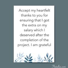 Thank You Message To Boss Thank You Messages For Boss Appreciation Increment Farewell