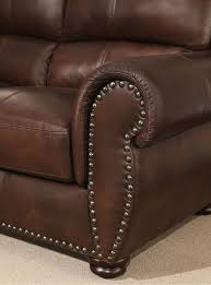 in large living rooms or casual family rooms the austin top grain leather sectional with ottoman by abbyson invites you to a classy laid back space every