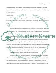 Biotic Components Essay Example Topics And Well Written