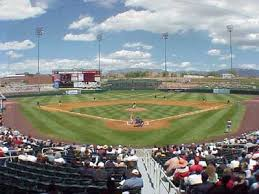 Albuquerque Isotopes Park Aaa Baseball Saw The Topes Here