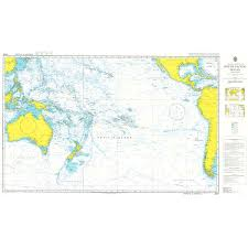 Ocean Charts Admiralty Chart 4007 A Planning Chart For The South Pacific Ocean