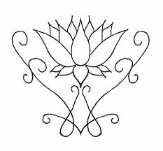 Small Picture Simple Lotus Flower Tattoo Designs Clipart Free Clipart