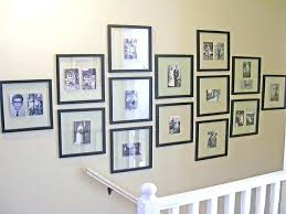 collage wall decor large collage frames wall large collage picture frames for wall with white rail collage wall decor