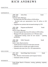 Resume Format- screenshot
