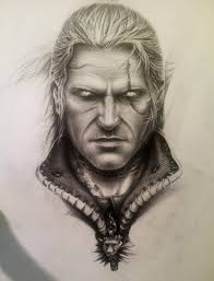 Michal Zebrowski as Geralt of Rivia in Wied min The Hexer Tv.