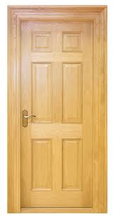 traditional contemporary fire primed white doors