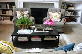 Endearing Coffee Table Decoration Ideas And Decorating A Coffee Coffee Table Ideas Decorating
