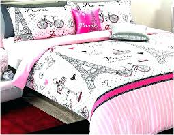 paris bedding twin for themed set tower pink aqua comforter target home design amp remodeling