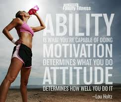fitness ability of life quote